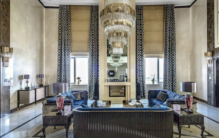 Let's check into this Incredible Luxury Penthouse in Moscow