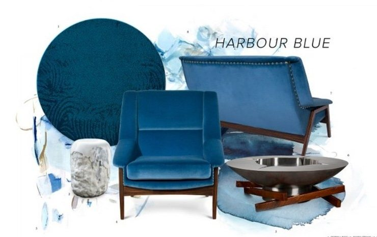 Discover the Glamour of the Harbour Blue Trend!