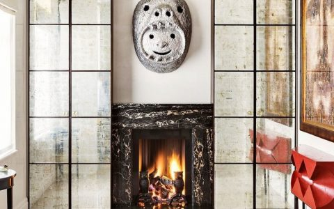 See 5 Incredible Fireplaces within Francis Sultana's projects