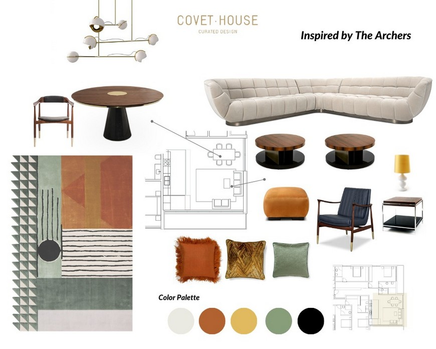 Take a look at this unique Moodboard Inspired By The Archers