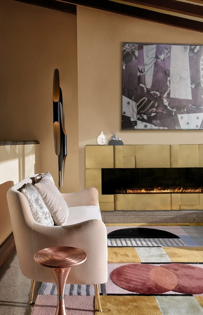 Combine these Modern Chairs with These Fireplaces!