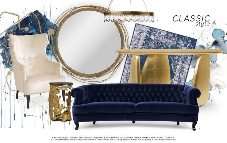 Decorate your Home with Classic Blue from Pantone!