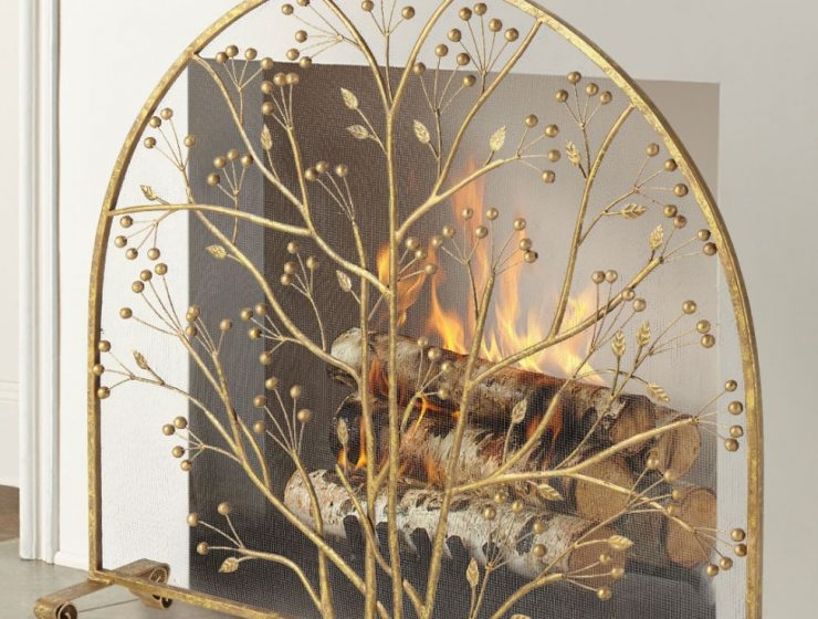 5-Staggering-Fireplace-Screens